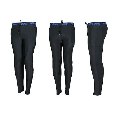 Motorbike Motorcycle Unisex Made With Kevlar Lining Stretch Armoured Leggings UK