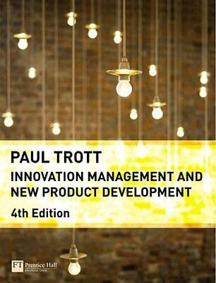 Innovation Management and New Product Development by Trott, Dr Paul Paperback