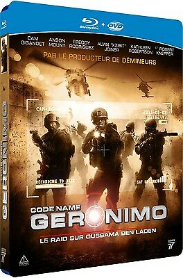 Combo Blu Ray + DVD  //  CODE NAME : GERONIMO  //  NEUF sous cellophane