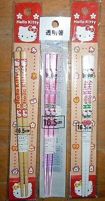 3 x Hello Kitty Chopsticks - Sealed - For Sale in Japan Only - New