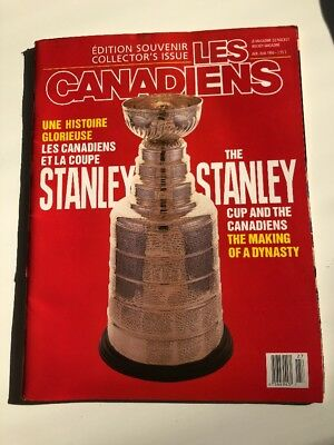 Les Canadiens Collectors Edition Magazine - Apr/may 1990