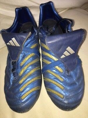 new arrival 0224d a5c1b Adidas Predator Pulse TRX FG - US 8.5 - Kangaroo leather - Blue - Excellent