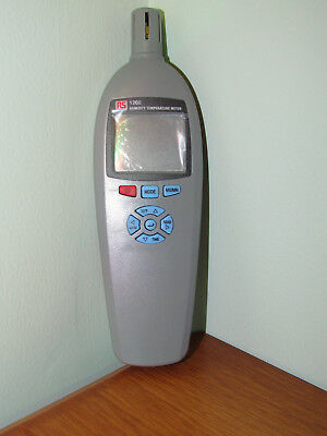 Digital humidity meter, RS Thermometers RS-1260, multi-lingual version brand new