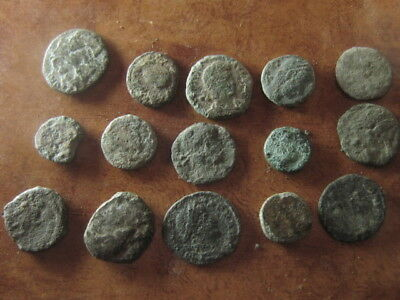 Ancient roman coins lot 32