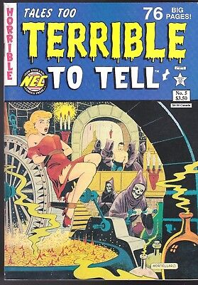 Tales Too Terrible To Tell 5 Pre-Code Horror Comic Reprints Story Comics Nec