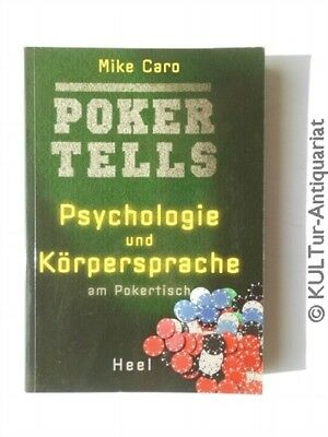 Caros Book of Poker Tells The Psychology and Body Language of Poker