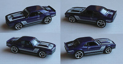 Hot Wheels - ´68 / 1968 COPO Camaro / Chevy violettmet. Multipack Exclusive