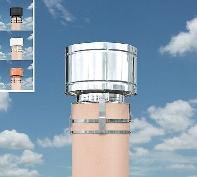 Storm Chimney Cowl - Stops Down Draught Redirecting the Wind Movement