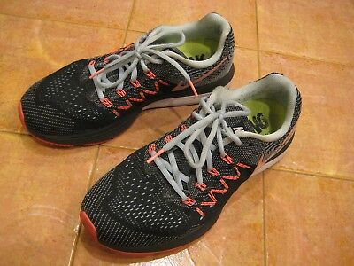 Nike Zoom women Neutral Ride Running sneakers in charcoal gray size 9 Excellent