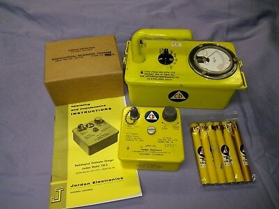 Radiation Survey Meter Set, CD V-715, V-742, V-750