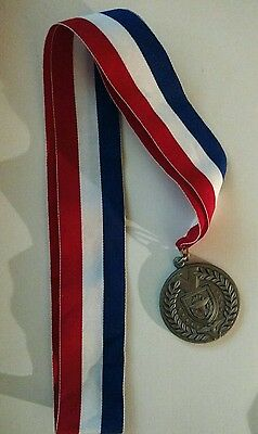 "U/i Cub  Boy Scout Medal 1 7/8"" With Ribbon 30  X1 1/2"""
