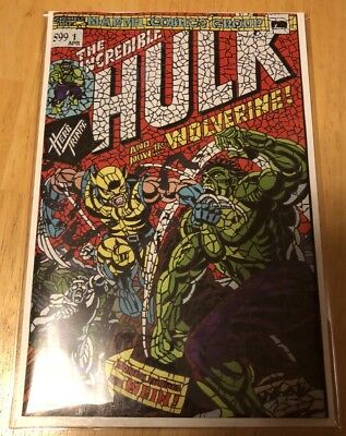 Hulk #181 Shattered Variant The Hunt For Wolverine #1 Sold Out Hot Rare