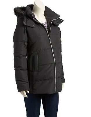NWT Old Navy Small 4 6 Maternity Hooded Frost Free Puffer Parka Coat Jacket