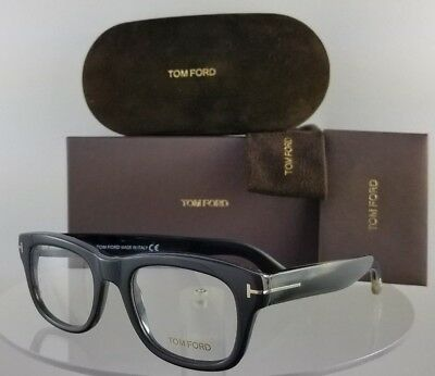 Brand New Authentic Tom Ford Eyeglasses FT TF 5472 020 49mm Grey Frame