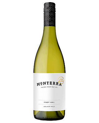 Monterra Pinot Gris 2017 case of 12 Dry White Wine 750mL Adelaide Hills