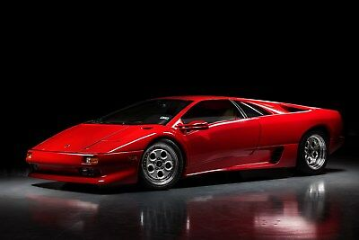 "1991 Lamborghini Diablo  ""Attention Collectors"" - First Year, 6K Mile Showroom Condition"