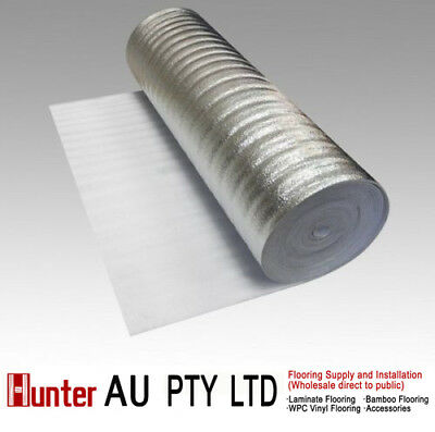 3mm Silver underlay for laminate Floor, Bamboo Floor,Floating floors-insulation
