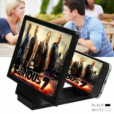 HD Mobile Phone Screen Magnifier Bracket Enlarge Stand For Cell Phone Smartphone
