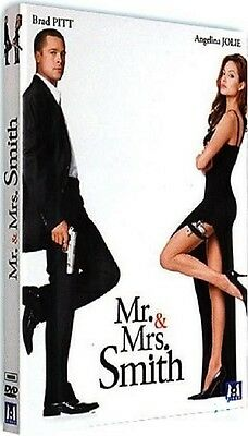 DVD  //  Mr. & Mrs. SMITH  //  Brad Pitt - Angelina Jolie / NEUF cellophané