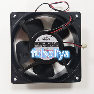 ADDA AD1212UB-F51 Large air volume Cooling fan DC12V 0.70A 120*120*38mm 2pin BF