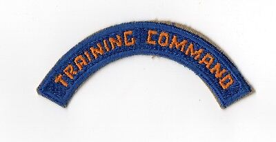 WWII Army Air Force Training Command Patch Tab