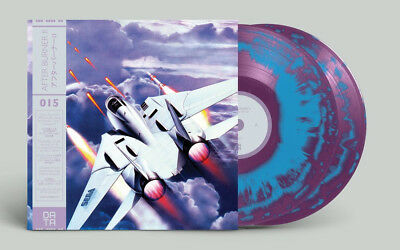 AFTER BURNER 2 Vinyl Soundtrack OST: Data Discs Limited Swirl Edition