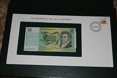 Banknotes of All Nations Australia 2 Dollars 1979 P 43c UNC