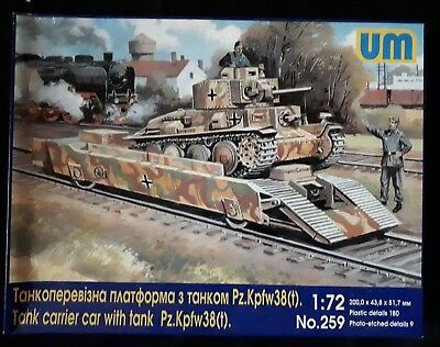 UM 259 Tank Carrier Car with 38t Tank