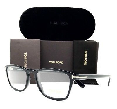 d08863b3b6a NEW TOM FORD Eyeglasses 5355 001 Black 56•18•145 With Original Case ...