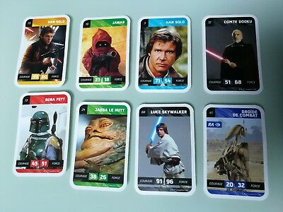 lots de cartes star wars cartes non sportives cartes de collection collections picclick fr. Black Bedroom Furniture Sets. Home Design Ideas