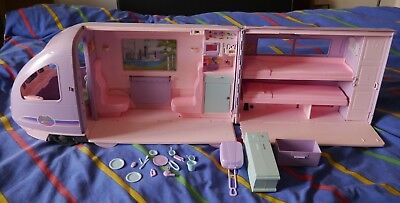 Barbie travel train w/ Sounds Electronic Moving Window Scenery - 2001 vintage