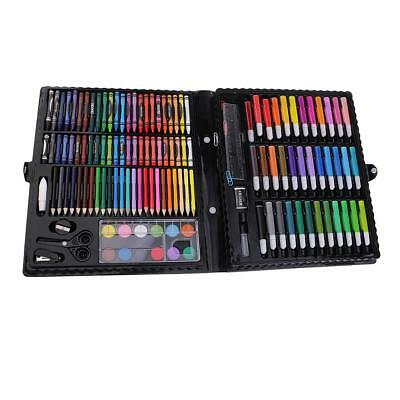 150X Art Set Kids DIY Colouring Drawing Painting Arts & Crafts Supplies Case
