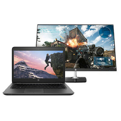 """HP ZBook 17 G3 17.3"""" Touch Mobile WS + HP N270h 27"""" Edge to Edge Gaming Monitor"""
