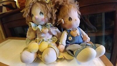 precious moments applause dolls pair Donny and Flippy