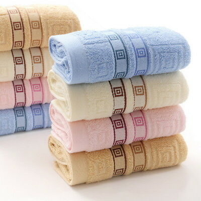Cotton Blend Towels Luxury Soft Towel Hand Bath Thick Towel Bathroom Dry Quick G