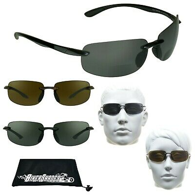 a892d783ad POLARIZED BIFOCAL SUNGLASS Readers Driving Fishing Cycling Reading ...
