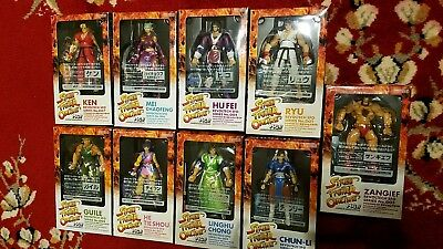 street fighter online complete collection revoltech action figure