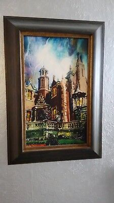 Disney Haunted Mansion Artist Proof Painting Giclee by Jim Salvati