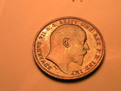 1906 Maundy GREAT BRITAIN 4P Toned Ch Gem MS Four Pence Silver UK Coin