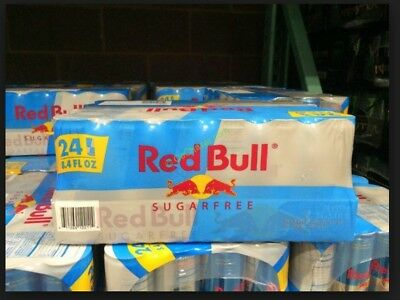 SUGAR FREE - RED BULL ENERGY DRINK - FULL CASE - 8.4oz 24 CANS