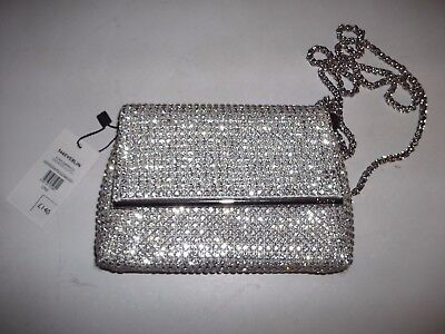 1328679f1ce3 DUNE EVERLINA DIAMANTE Clutch Bag silver - £132.00