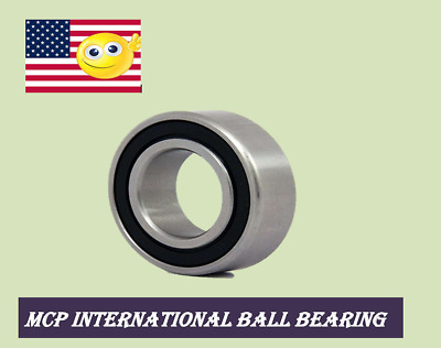 (1, 2, 5pcs) 5203-2RS DOUBLE ROW BALL BEARING 17x40x17.5mm