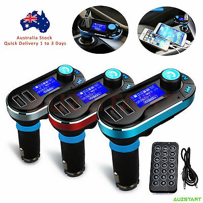 Wireless Bluetooth Car Kit FM Transmitter Radio MP3 Music Player LCD USB ChargeS