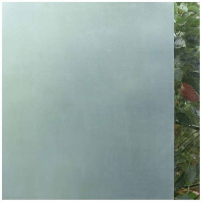 2X(Frosted Window Film Frosted Glass Sticky Back 45cm x 2m Solid color I7W9)