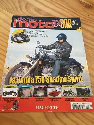 Joe Bar Team fasicule n° 70 collection moto Hachette revue magazine brochure