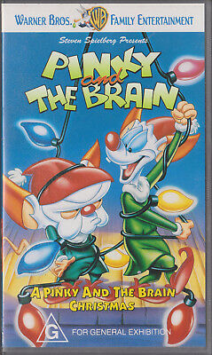 Pinky And The Brain Christmas.Pinky And The Brain Christmas Vhs 1996 Warner Bros Vhs
