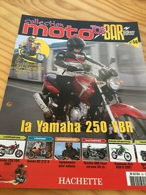 Joe Bar Team fasicule n° 56 collection moto Hachette revue magazine brochure