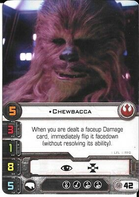 Star Wars X-Wing Chewbacca Promo FFG Official