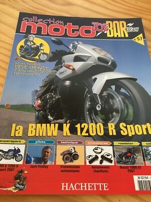 Joe Bar Team fasicule n° 57 collection moto Hachette revue magazine brochure