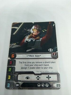 Star Wars X-Wing Red Ace Promo FFG Official